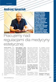 Andrzej Ignaciuk wywiad Rynek estetyczny