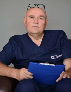 dr n. med. Andrzej Barwijuk, lekarz Kliniki Kobiet Medifem, prezes Polskiego Towarzystwa Ginekologii Plastycznej