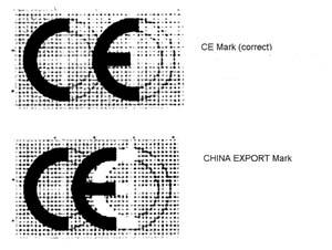 CE versus China Export Fot. ICQC