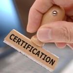 Certyfikacja Fot 123RF