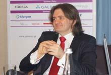 Dr Piotr Sznelewski podczas konferencji poprzedzającej XVI Kongresu Medycyny Estetycznej i Anti-Aging