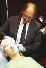 Dr Riccardo Forte, Workshop, Kongres SLDE 2015, stosowanie wypełniaczy Aliaxin