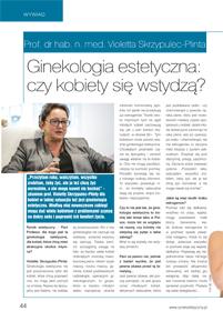 Rynek estetyczny Wywiad Ginekologia estetyczna