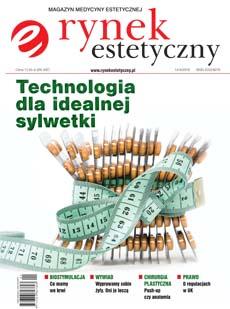 """Okładka magazynu """"Rynek estetyczny"""" numer 1/I-III/2016"""