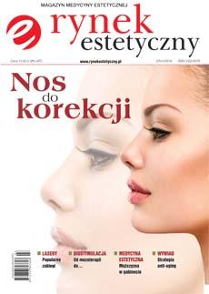 """Okładka magazynu """"Rynek estetyczny"""" numer 2/IV-VI/2016"""