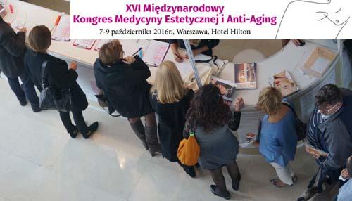 XVI Kongresu Medycyny Estetycznej i Anti-Aging Fot Rynek estetyczny