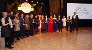 Gala XVII Kongresu SLDE w hotelu Victoria - laureaci Pereł Dermatologii Estetycznej 2015 Fot. SLDE