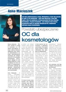 OC dla kosmetologow tekst