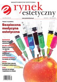 Rynek estetyczny - okładka wydania wrześniowego 2014 r.