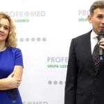 Prezes Grupy LUX MED Anna Rulkiewicz z Robertem Korzeniowskim, który odpowiada w PROFEMED za rozwój pionu Medycyna dla Sportu i Aktywnych Fot Lux Med