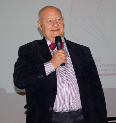 Prof Jerzy Polański Fot RE