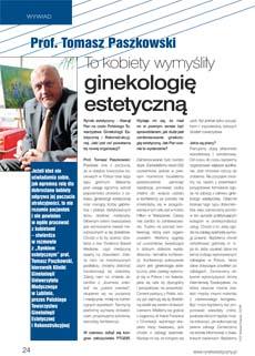 Prof Paszkowski wywiad