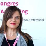 Rossana Castellana na Kongresie Fot. Rynek estetyczny