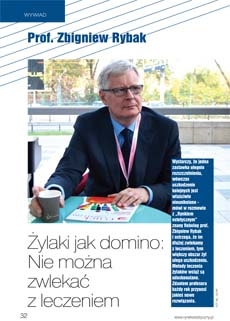 Prof Zbigniew Rybak