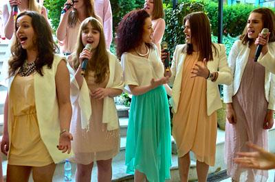 Występ The Voices, finalistów programu X-Factor Fot. Olgierd Chodyniecki