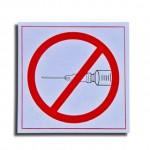 Zakaz iniekcji Fot 123RF