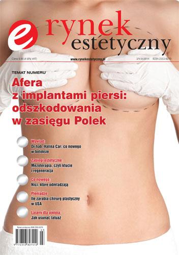 Okładka RYNEK ESTETYCZNY 3/V-IX/2014